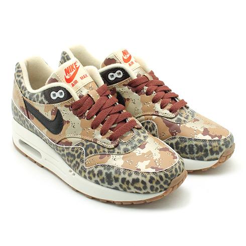 """8942a03634545 Atmos x #Nike WMNS #AirMax 1 PRM – """"Desert Camo / Leopard ..."""