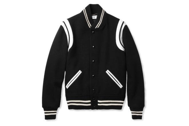 saint-laurent-leather-trimmed-wool-blend-varsity-jacket-1