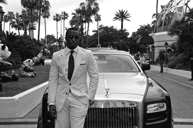 p diddy in cannes