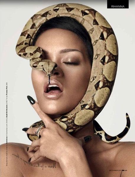 rihanna-gq-snake-3