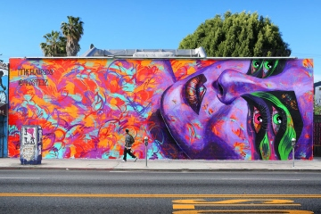 the-hundreds-x-madsteez-mural-on-melrose-5