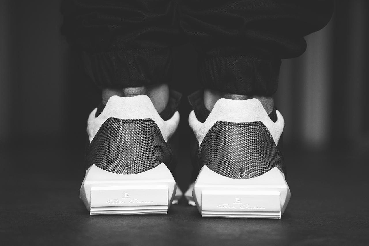 9636dcad747f KICKS  A Closer Look at  RickOwens x  Adidas 2014 Spring Summer Tech Runner  – Stacksandkicks Lifestyle