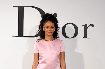 BROOKLYN, NY - MAY 07:  Rihanna attends the Christian Dior Cruise 2015 Show on May 7, 2014 in Brooklyn, New York City.  (Photo by Bryan Bedder/Getty Images for Christian Dior)