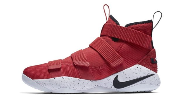 Nike-LeBron-Soldier-11-University-Red