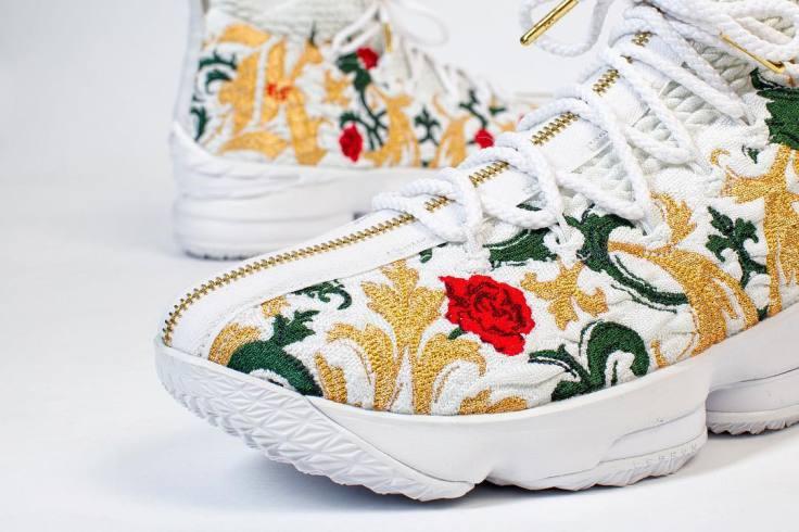 """half off 8e20b ce0cb Kicks: New #LeBronJames x #Kith x #NikeBasketball """"Floral 15 ..."""