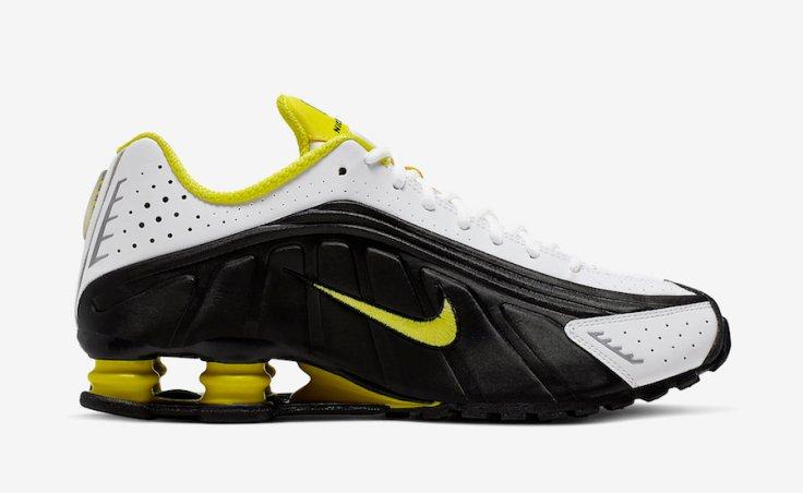 Nike-Shox-R4-Black-Dynamic-Yellow-104265-048-Release-Date-2