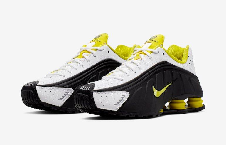 Nike-Shox-R4-Black-Dynamic-Yellow-104265-048-Release-Date-4