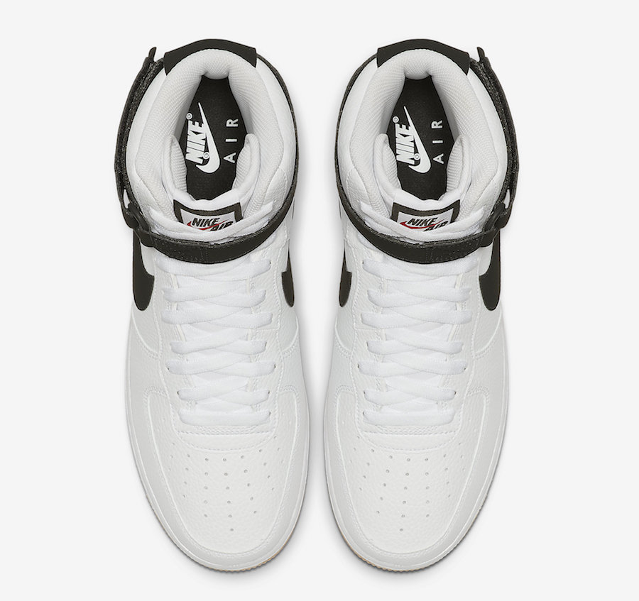 Nike-Air-Force-1-High-White-Black-Gum-AT7653-100-Release-Date-2
