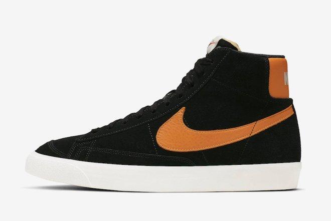 Nike-Blazer-Mid-Vintage-Black-Amber-Rise-CJ9693-001-Release-Date