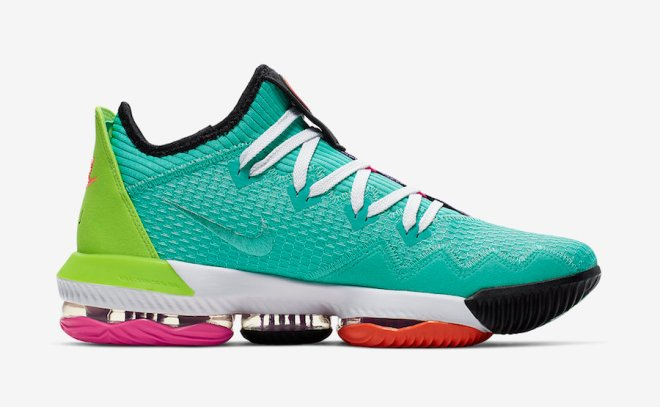 Nike-LeBron-16-Low-Air-LBJ-Hyper-Jade-CI2668-301-Release-Date-2