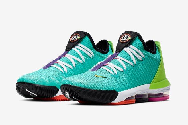 Nike-LeBron-16-Low-Air-LBJ-Hyper-Jade-CI2668-301-Release-Date-4