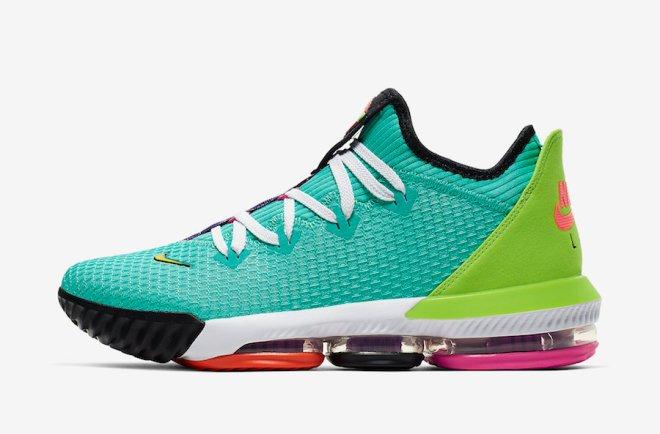 Nike-LeBron-16-Low-Air-LBJ-Hyper-Jade-CI2668-301-Release-Date