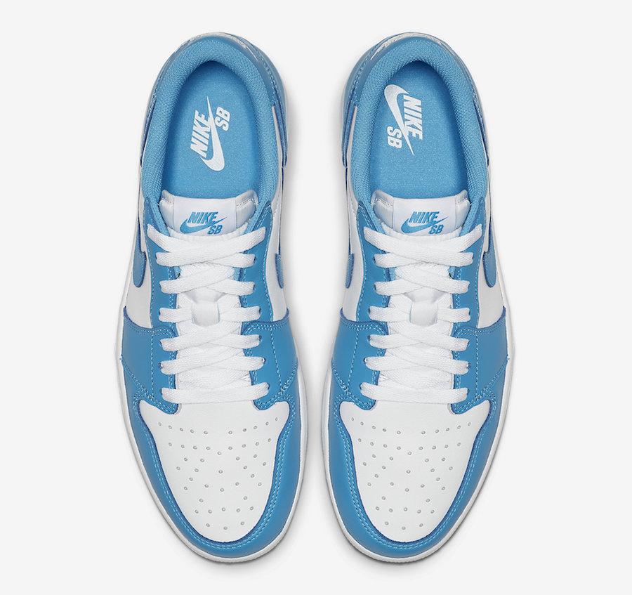 Nike-SB-Air-Jordan-1-Low-UNC-CJ7891-401-Release-Date-3