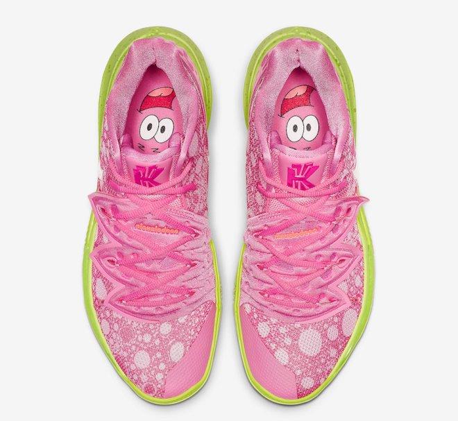 SpongeBob-SquarePants-Nike-Kyrie-5-Patrick-Star-CJ6951-600-Release-Date-3
