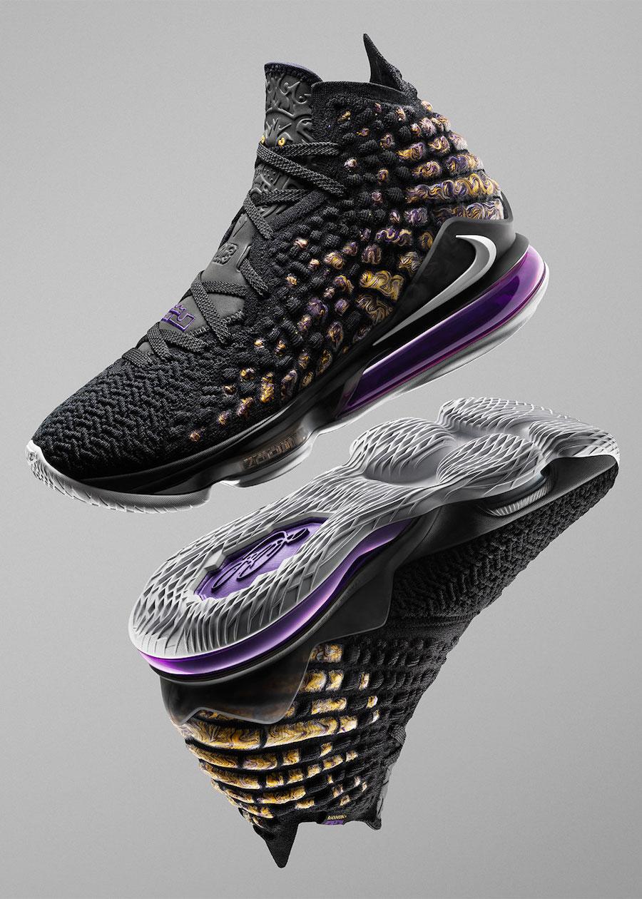 Nike-LeBron-17-Purple-Gold-Lakers-BQ3177-004-Release-Date