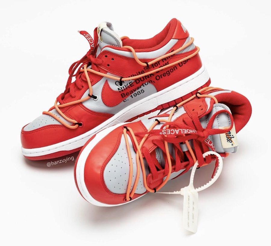 Off-White-Nike-Dunk-Low-Univeristy-Red-Wolf-Grey-CT0856-600-2019-Release-Date-4