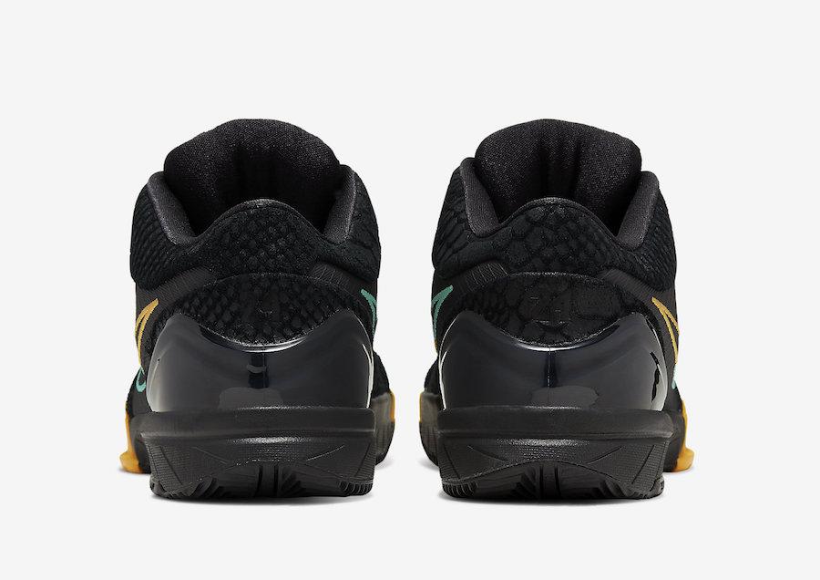 Nike-Zoom-Kobe-4-Protro-Black-Snake-Aurora-Green-University-Gold-AV6339-002-Release-Date-5