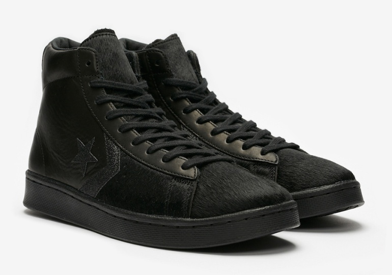 Converse-Pro-Leather-Mid-Black-Pony-Hair-Release-Date