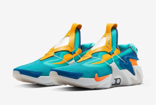 Nike-Adapt-Huarache-Hyper-Jade-Total-Orange-BV6397-300-Release-Date-4