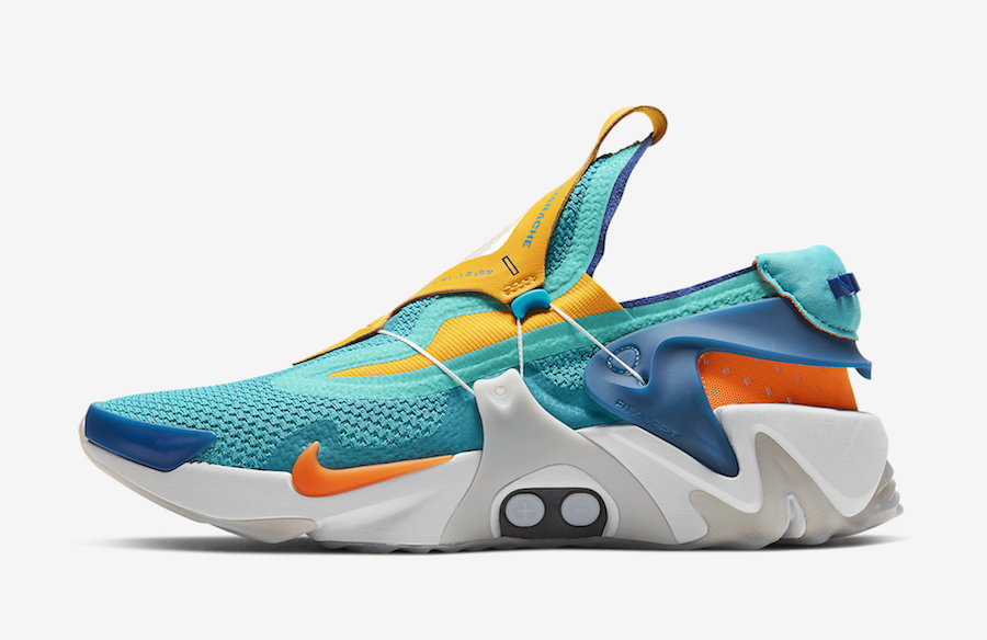 Nike-Adapt-Huarache-Hyper-Jade-Total-Orange-BV6397-300-Release-Date