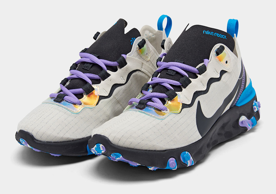 Nike-React-Element-55-Off-Noir-Blue-Hero-Amethyst-Tint-CT1612-001-Release-Date