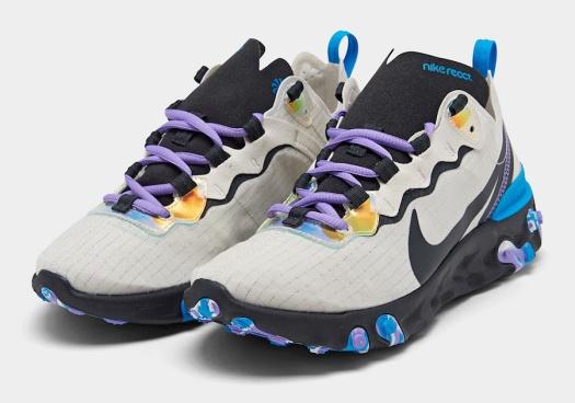 Nike-React-Element-55-Off-Noir-Blue-Hero-Amethyst-Tint-CT1612-001-Release-Date