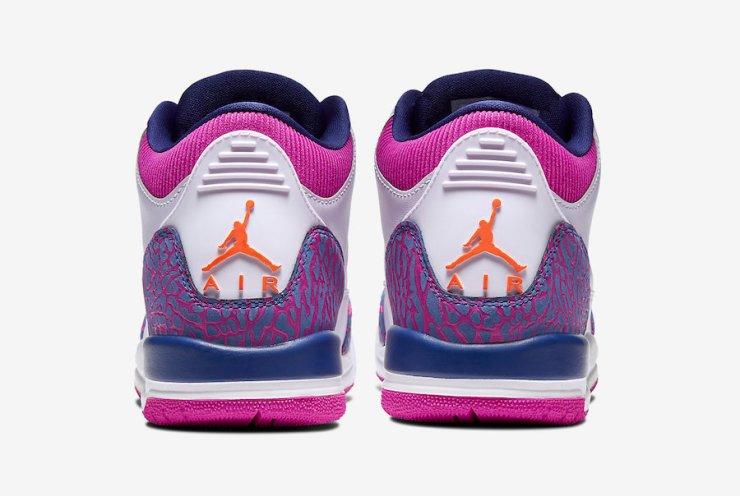 Air-Jordan-3-GS-Barely-Grape-Hyper-Crimson-Fire-Pink-441140-500-Release-Date-5