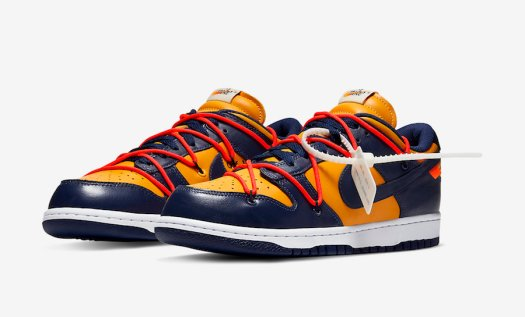 Off-White-Nike-Dunk-Low-Gold-Navy-CT0856-700-Release-Date