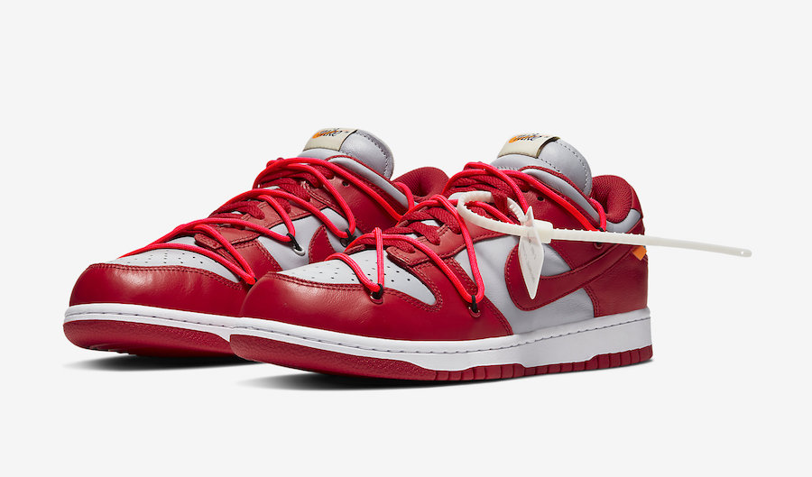 Off-White-Nike-Dunk-Low-Red-Grey-CT0856-600-Release-Date