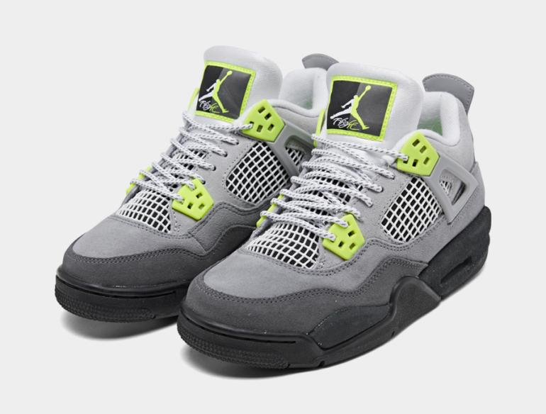 Air-Jordan-4-Air-Max-95-Neon-Kids-CT5343-007-Release-Date-1