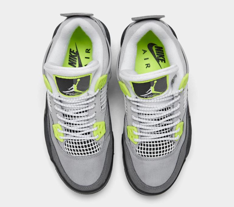 Air-Jordan-4-Air-Max-95-Neon-Kids-CT5343-007-Release-Date-4