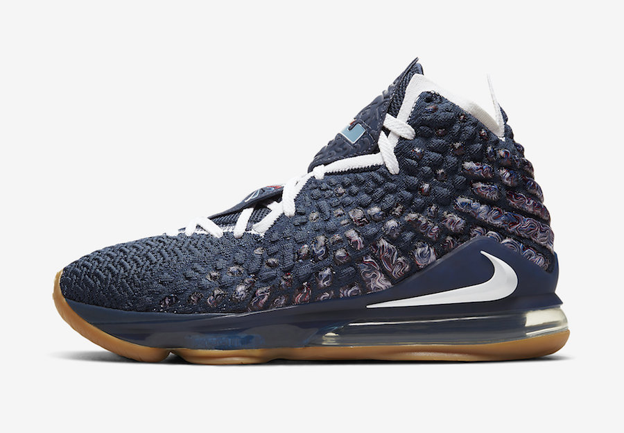 Nike-LeBron-17-College-Navy-Gum-CD5056-400-Release-Date