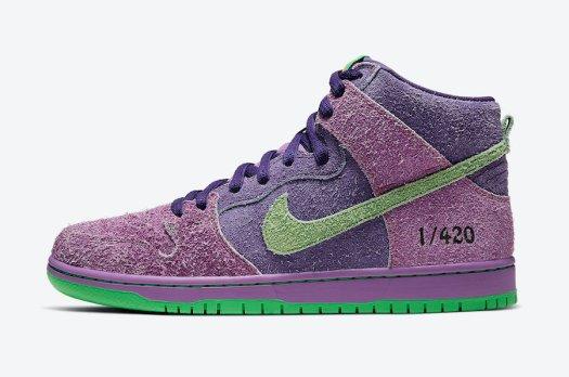 Nike-SB-Dunk-High-420-Purple-Skunk-CW9971-500-Release-Date