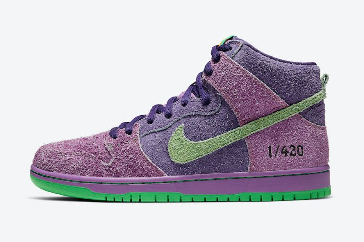 Nike-SB-Dunk-High-420-Purple-Skunk-CW9971-500-Release-Date