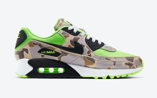 Nike-Air-Max-90-Ghost-Gren-Volt-Duck-Camo-CW4039-300-Release-Date-2