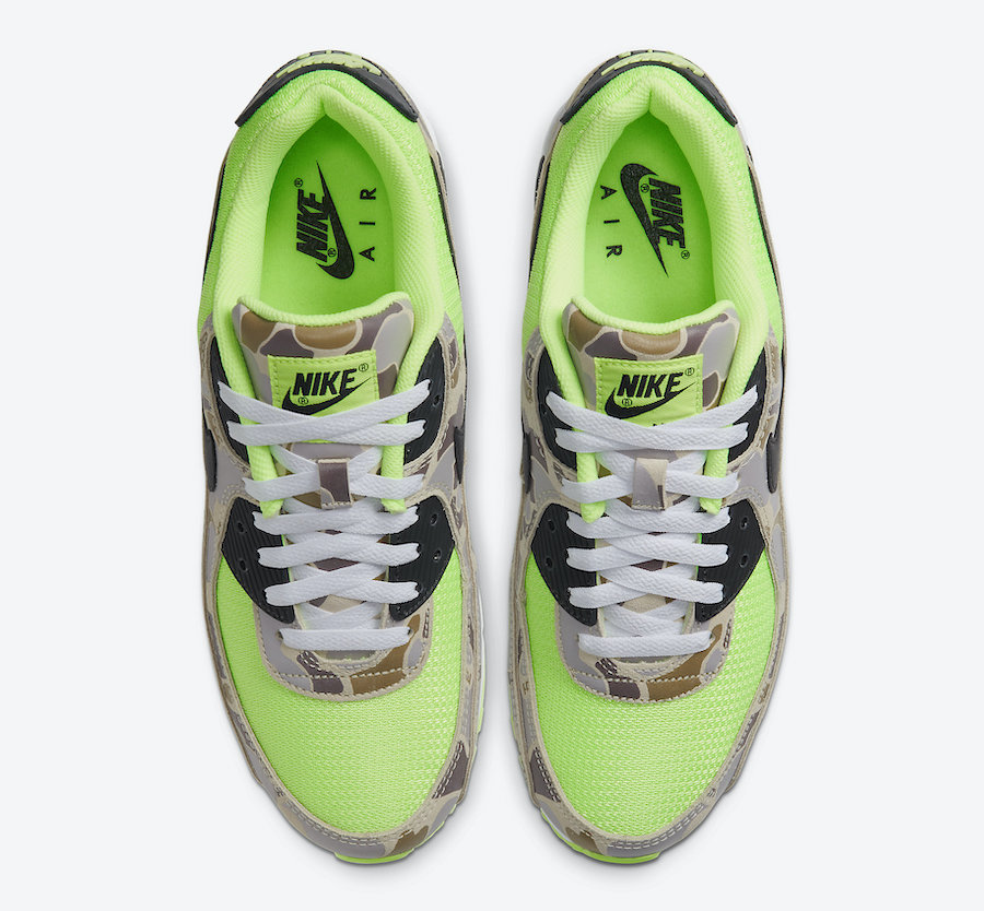 Nike-Air-Max-90-Ghost-Gren-Volt-Duck-Camo-CW4039-300-Release-Date-3