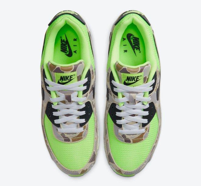 Nike-Air-Max-90-Ghost-Gren-Volt-Duck-Camo-CW4039-300-Release-Date-3