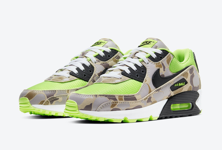 Nike-Air-Max-90-Ghost-Gren-Volt-Duck-Camo-CW4039-300-Release-Date-4