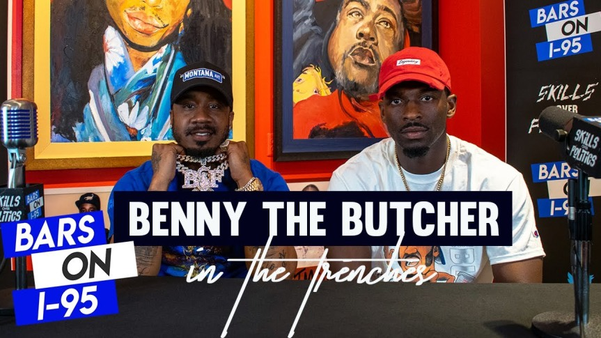 """CULTURE: BENNY THE BUTCHER INTERVIEW AND FREESTYLE ON """"BARS ONI-95"""""""